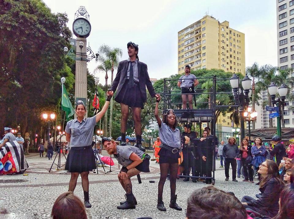 Fringe Festival de teatro em Curitiba