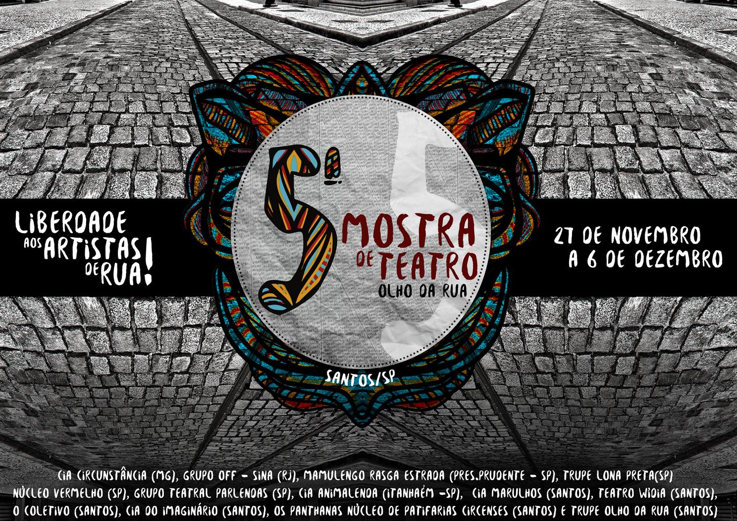cartaz 5ª mostra